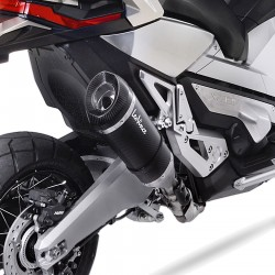 14196 : Leovince Factory S Carbon Slip-On Exhaust Honda X-ADV 750