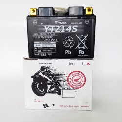 31500-MCR-305 : Batterie d'Origine Honda YTZ14S Honda X-ADV 750
