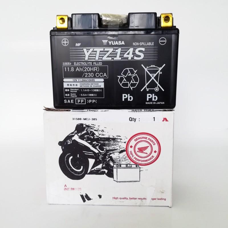 31500-MCR-305 : Batterie d'Origine Honda YTZ14S X-ADV