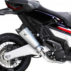 M10T : Ixrace Titanium M10 Slip-On Exhaust X-ADV