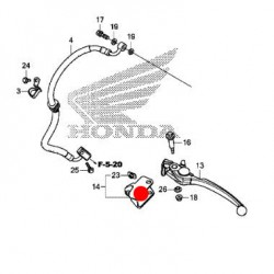 53196-MKH-D00 : Attacco per paramani originale Honda X-ADV