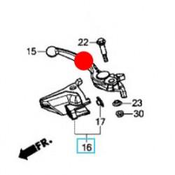53170-MEJ-016 : Honda OEM Brake lever Honda X-ADV 750
