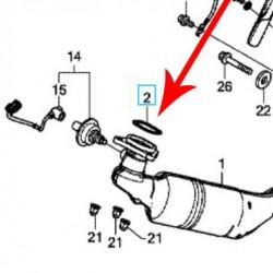18291-MGS-D31 : Honda OEM exhaust header seal X-ADV
