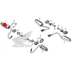 33400-MKH-D01 : Lampeggiante originale Honda Honda X-ADV 750