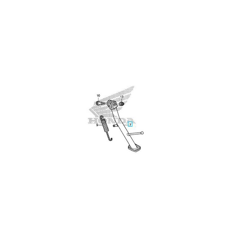 50530-MGS-D70 : Béquille latérale NC700D Integra Honda X-ADV 750