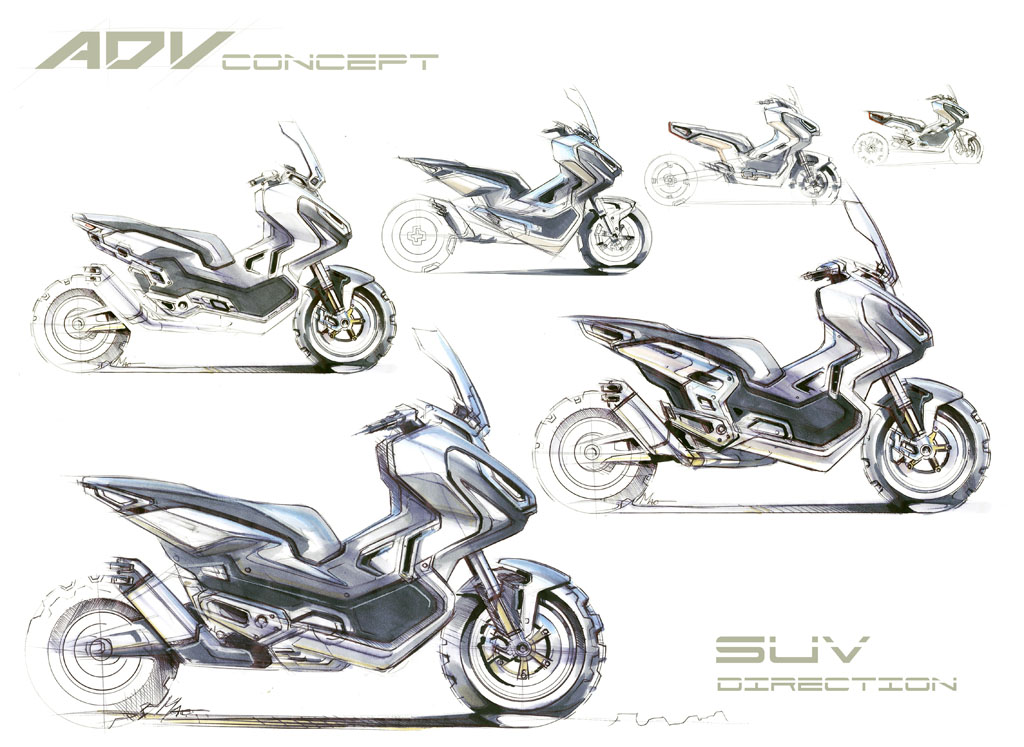 Croquis X-ADV