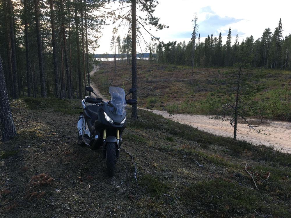 X-ADV en Finlande avec Frederick W.